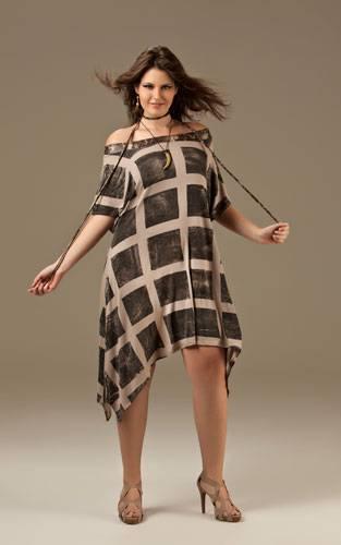 vestido fashion para gordinhas