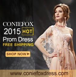 CONIEFOX 2015 Prom Dresses Cheap