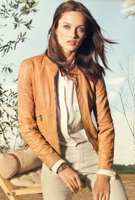 Massimo Dutti primavera 2013 moda mujer cazadora de piel