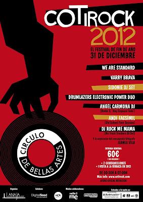 FESTIVAL COTIROCK 2012 FIN DE AÑO