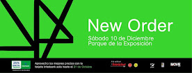 NEW ORDER (2da VEZ) PARQUE DE LA EXPOSICION. 10 DE DICIEMBRE 2016