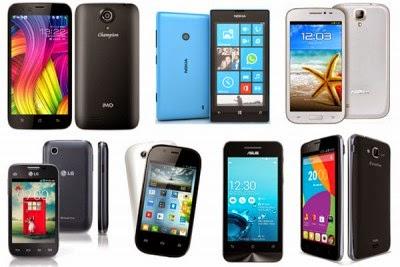 Kumpulan Smartphone harga 1 jutaan