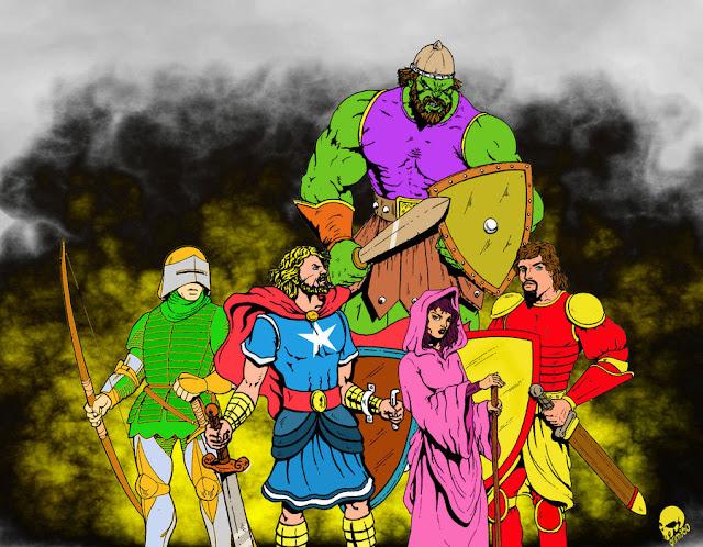 Avengers Unite por grimagix