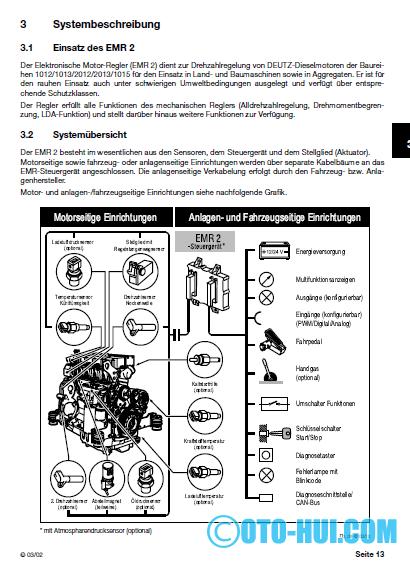en oto hui com deutz emr 2 system description electronic engine rh enotohuicom blogspot com Deutz Diesel Engine Service Manuals Deutz Diesel Engine Service Manuals