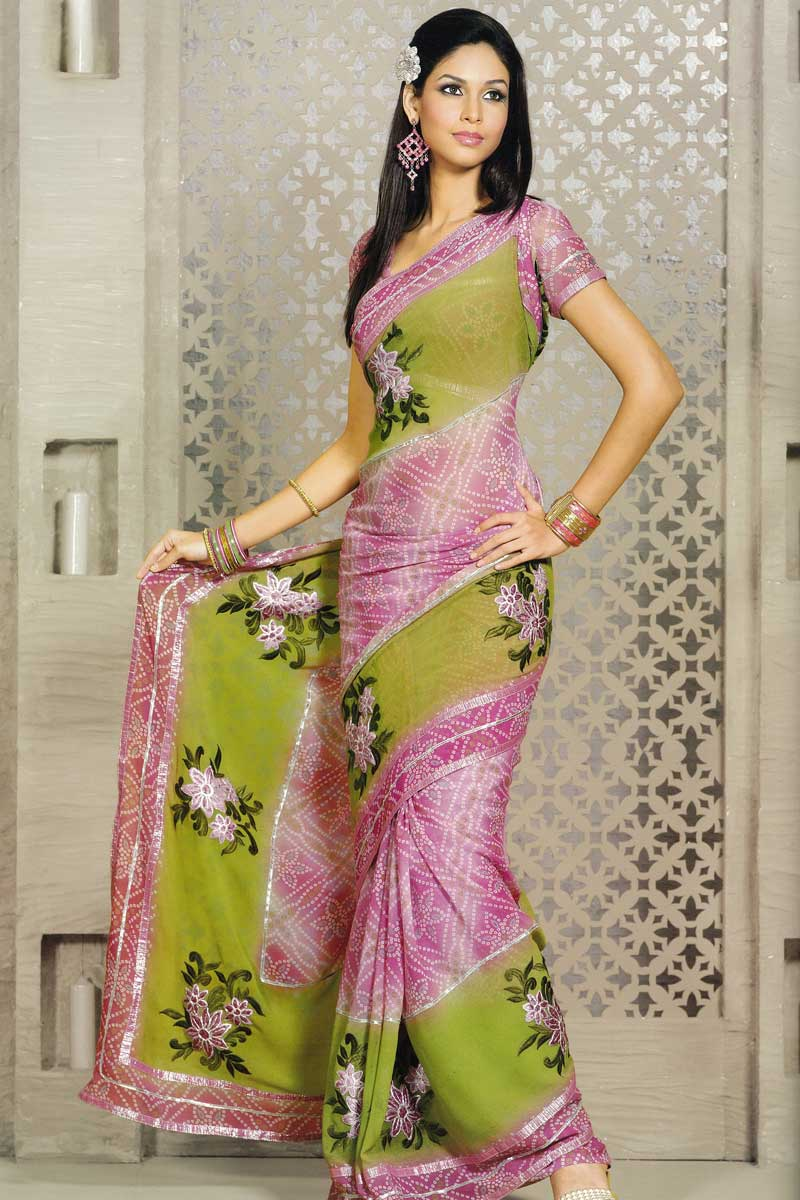 Different Types Of Party Wear Sarees 69