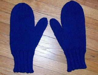 Knitting Pattern For Basic Mittens : Knitting II: Basic Mitten Pattern