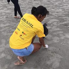 Mutirão de limpeza - Praias de Santos