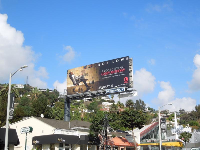 Prosecuting Casey Anthony Lifetime billboard