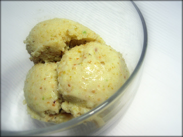 przepis na lody, jak zrobić lody, lody pistacjowe