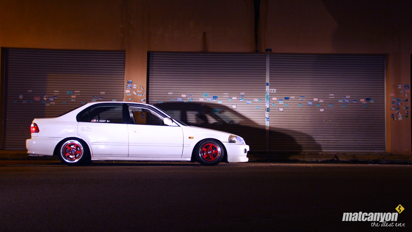 Mat Canyon Kanjo Inspired Aqwa S Honda Civic Ek3