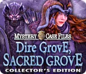 Mystery Case Files: Dire Grove, Sacred Grove game banner