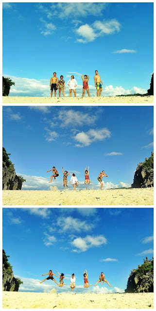 SKY is the Limit...  Heavenly Wonders of Caramoan, Camsur / jump 'til u drop