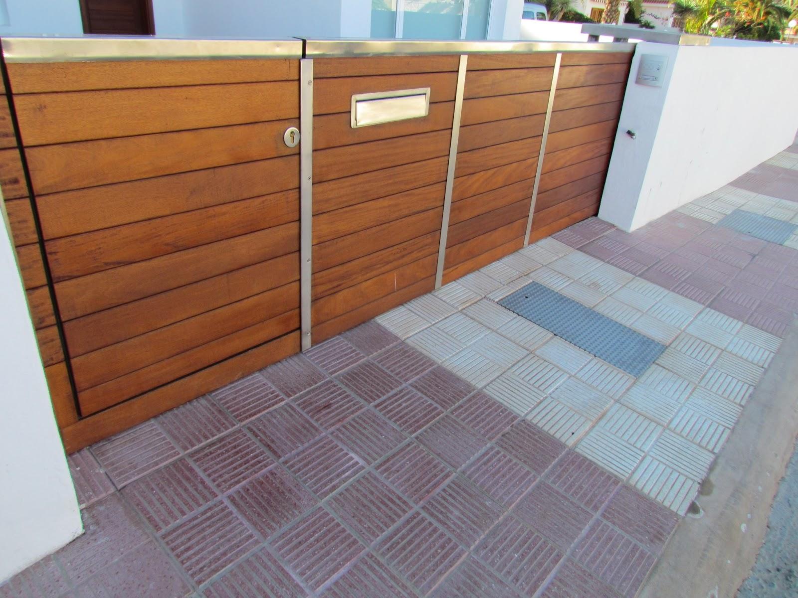 Puertas garaje tenerife modelos y materiales de puertas - Portales de madera ...