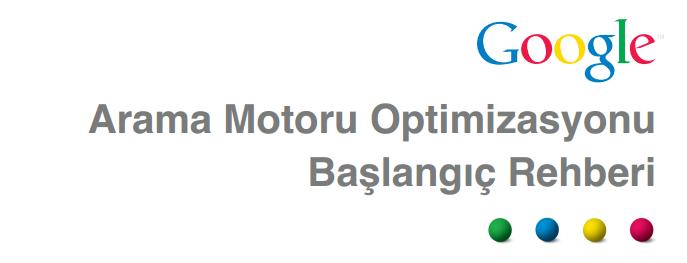 Yeni Başlayanlar İçin Google Arama Motoru Optimizasyonu Seo Rehberi