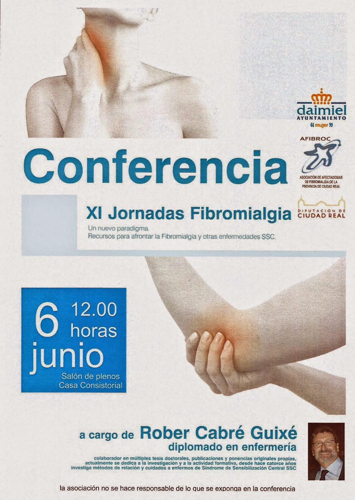Conferencia XI Jornadas Fibromialgia.