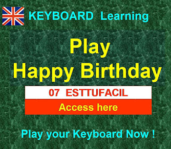 KEYBOARD  Happy Birthday