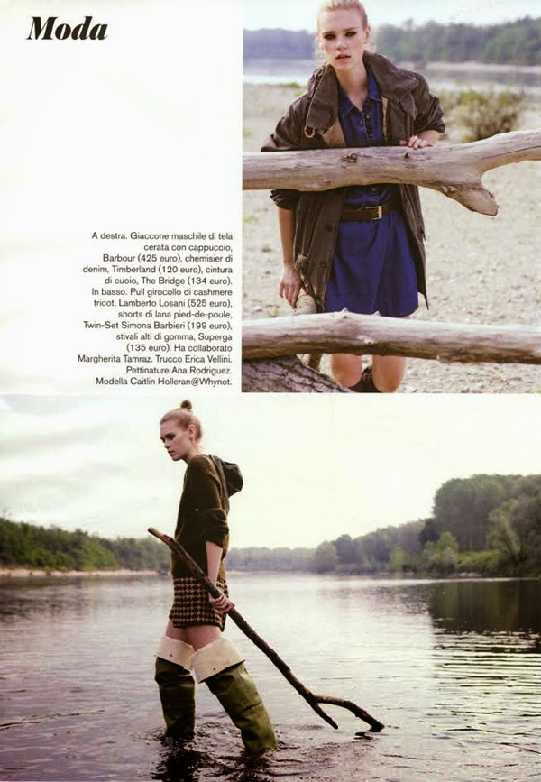 Caitlin Holleran - Cast Images - D - la Repubblica Magazine