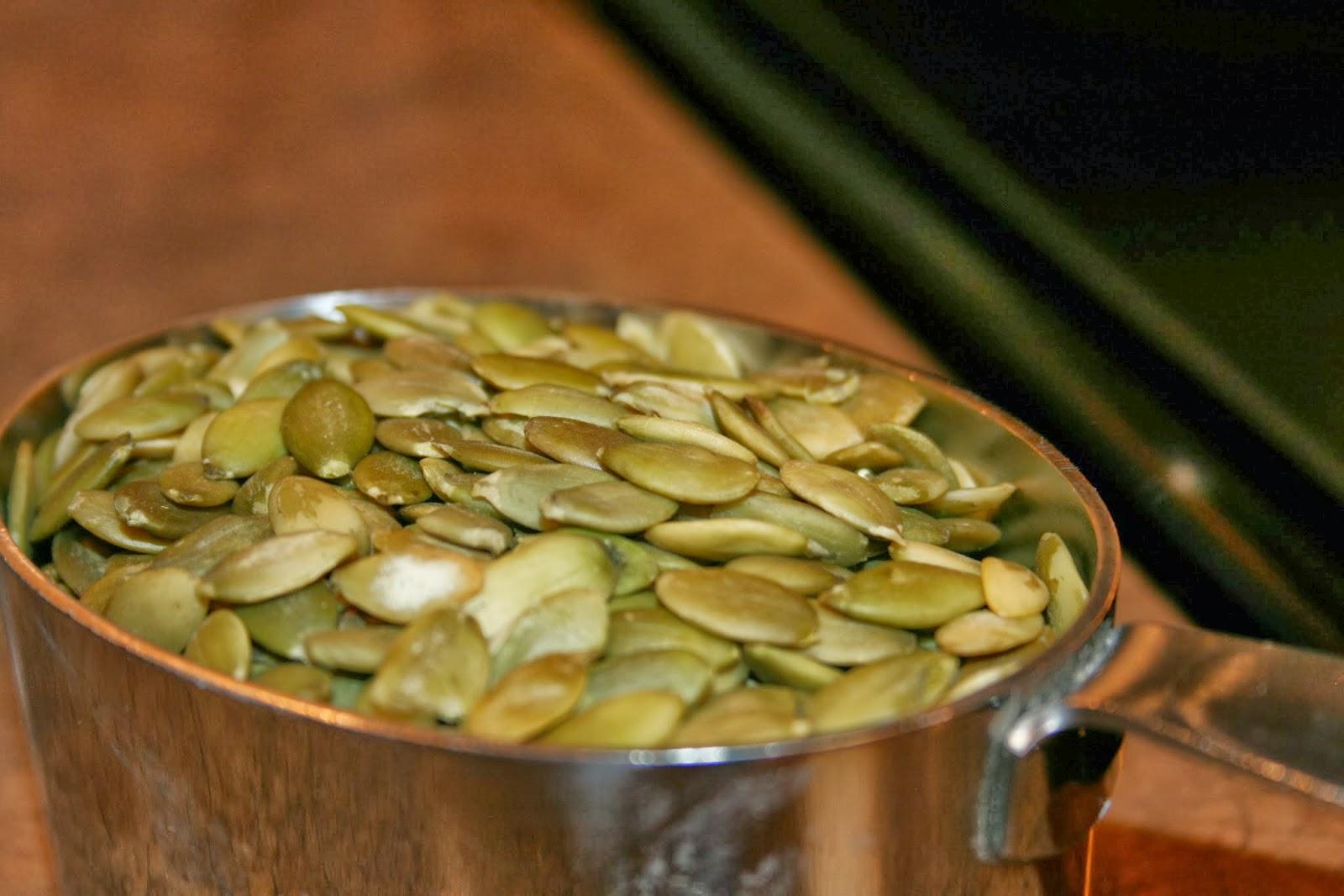 JOY Unspeakable: Toasted Tamari Pumpkin Seeds {Christmas Program Pics ...