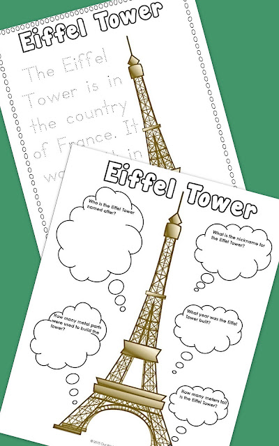 France Unit Study Free Printable