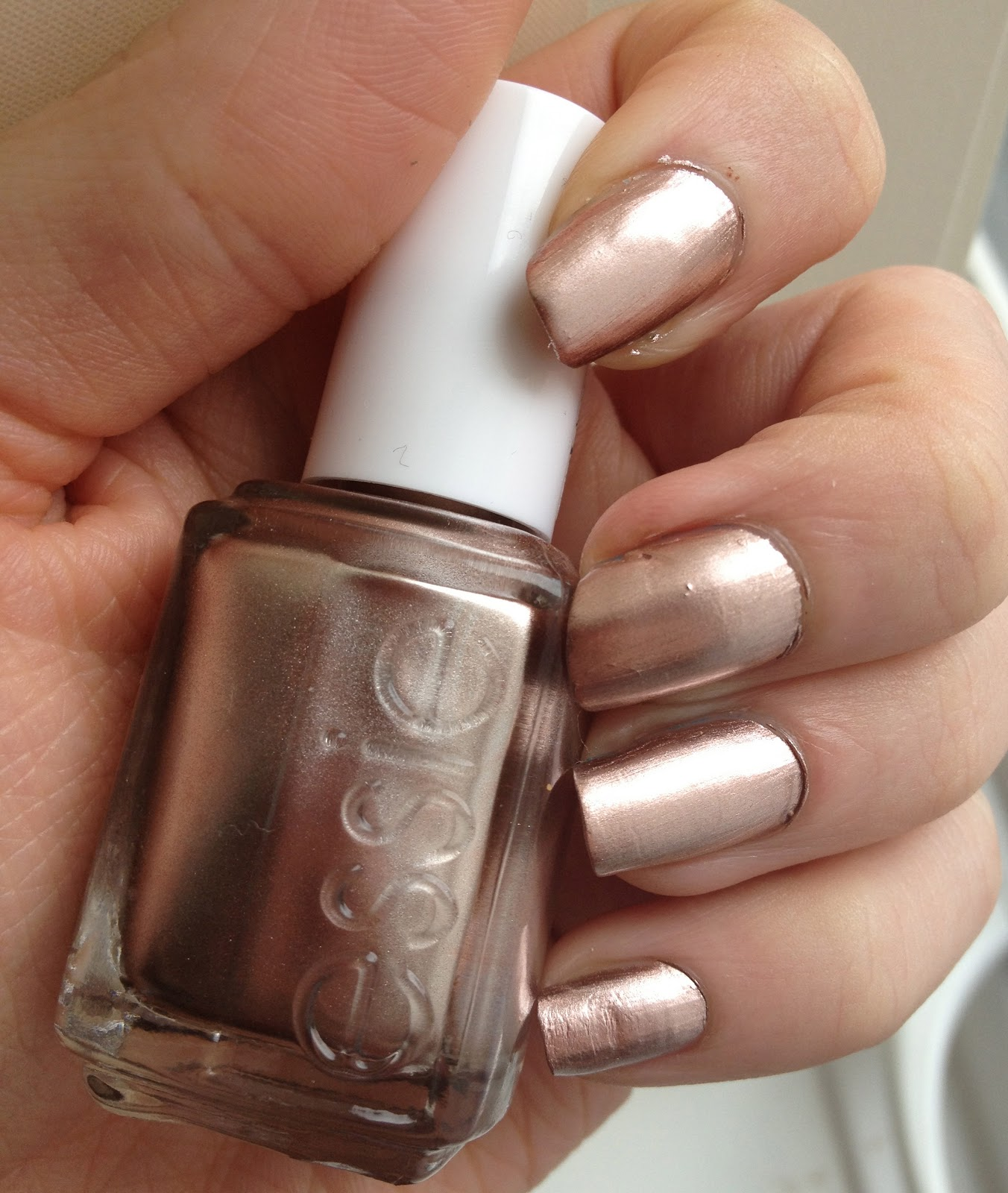 Glitter In The Gutter: Essie \'Penny Talk\' Swatch and Review