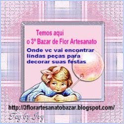 3° Bazar   DECORANDO SUAS FESTAS