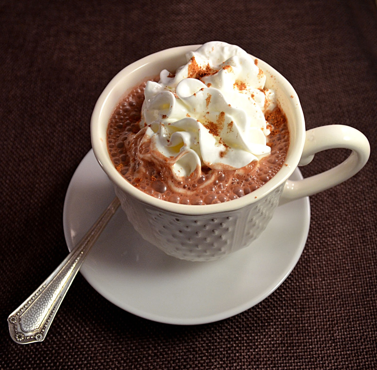 Sew French: Healthy Weekday Morning Hot Chocolate
