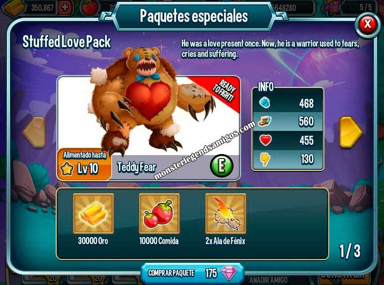 imagen de la oferta especial stuffed love pack