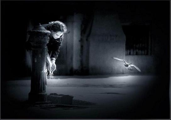 Escarcha en la mirada: Pensamientos de un alma perdida (Alma)