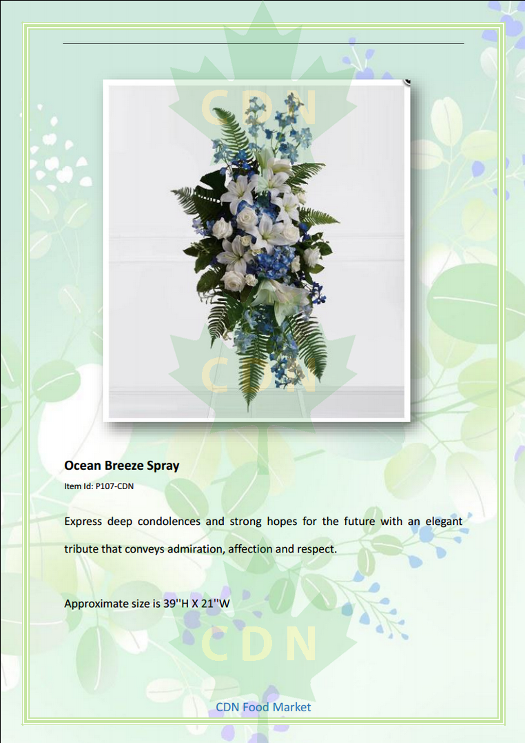 Cdn Flower And Plant Funeral Sympathy