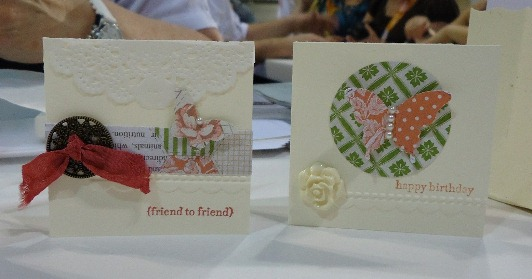 Stampin' Up! Tea for Two Product Suite Samples