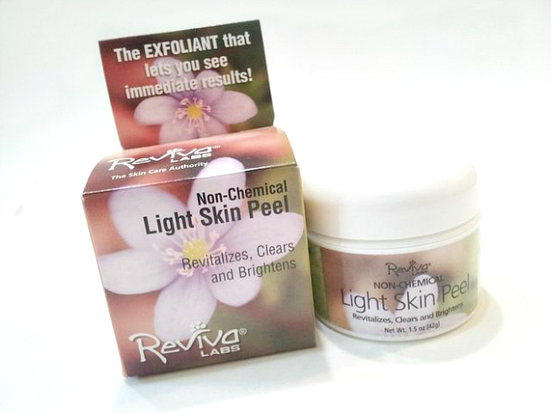 Reviva Labs Non-Chemical Light Skin Peel Review