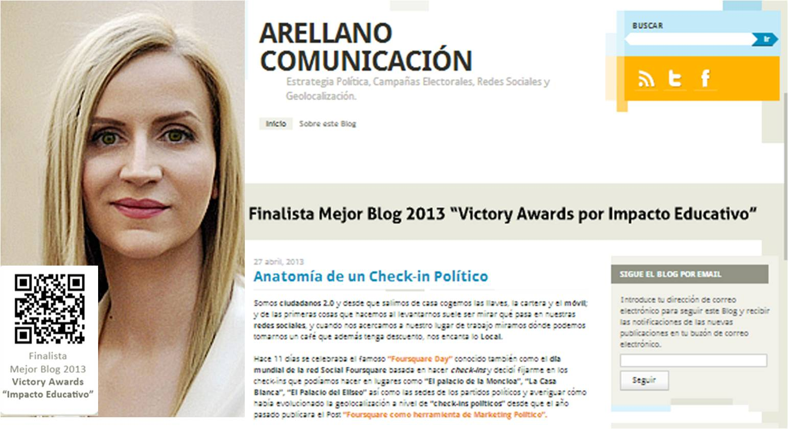 Ana Ramirez Arellano experta en marketing on line, social media y marketing politico. Esmeralda Diaz-Aroca