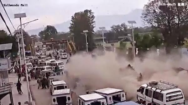 Nepal Earthquake Live Video and CCTV Footage