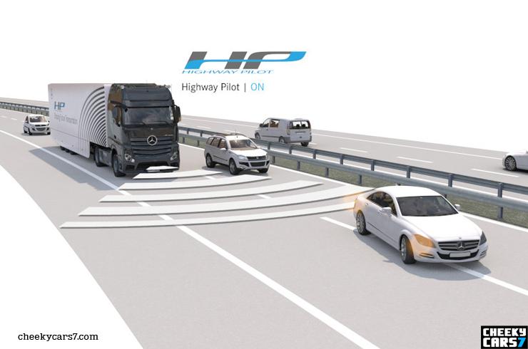 2015 Cami N Aut Nomo Self Driving Truck Mercedes Actros
