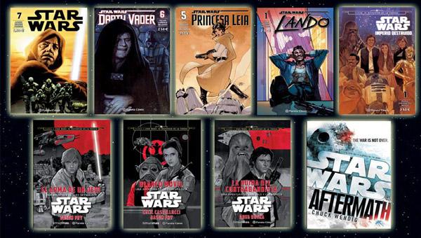 Libros y cómics Star Wars 10 Octubre 2015