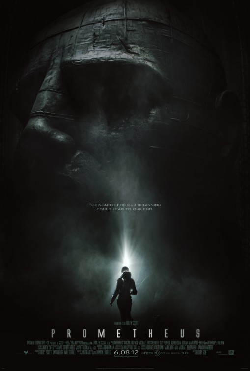 Prometheus movie poster