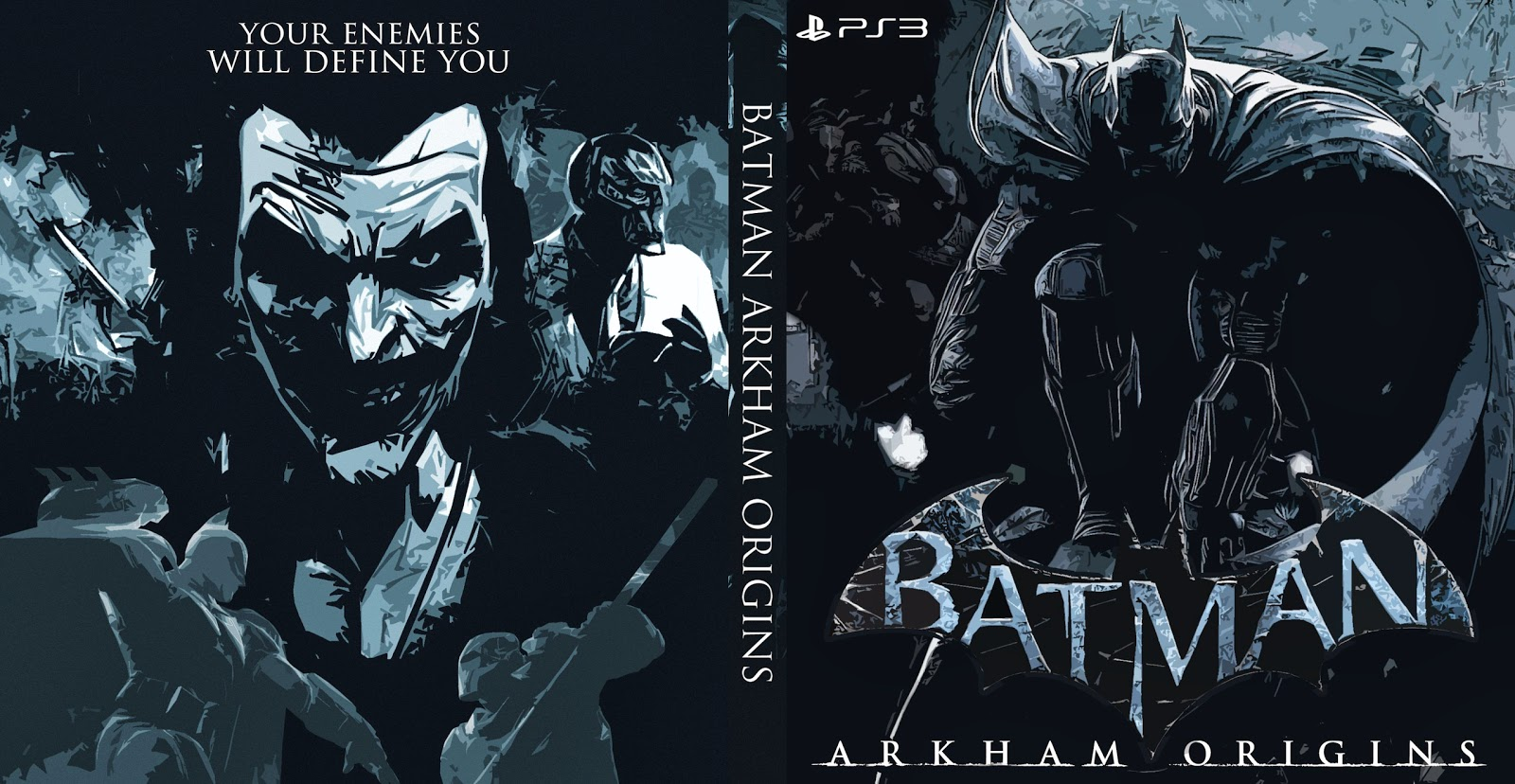 Capa Batman Arkham Origins PS3