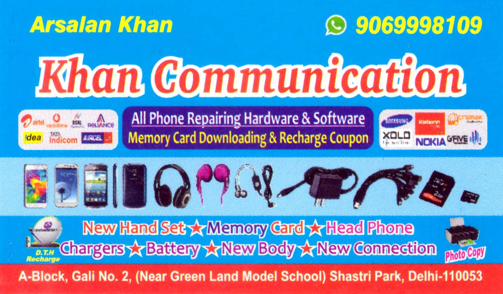 Khan Communicatiom
