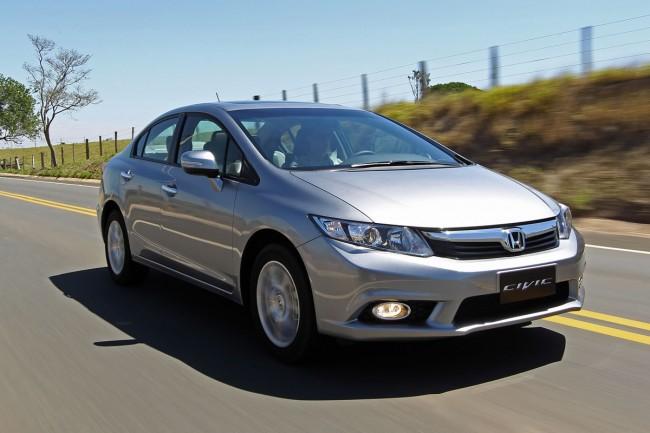 novo Honda Civic 2014 dianteira