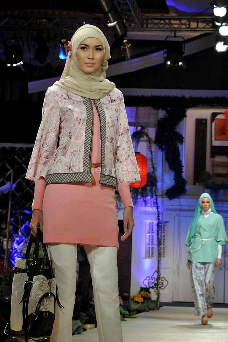 16 Contoh Baju Muslim Kerja Modis Terbaru  Kumpulan Model Baju