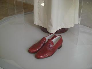 Le scarpe di Papa Wojtyla nel Museo Arcidiocesano a Cracovia