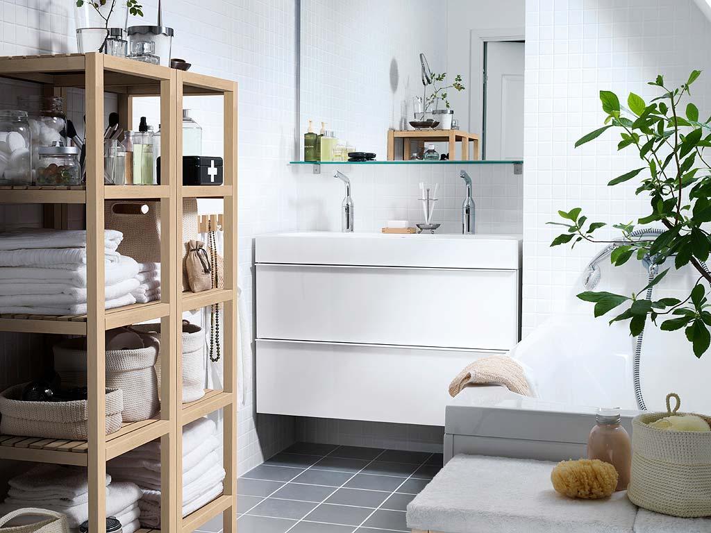 Ikea e momichan un bagno ikea - Ikea scaffali bagno ...