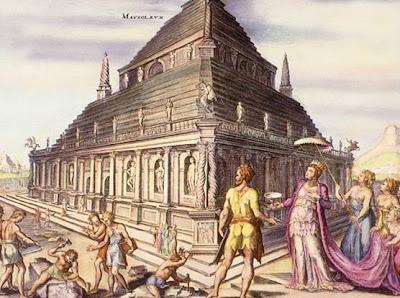 ضريح موسولوس , صور عجاءب الدنيا السبعه