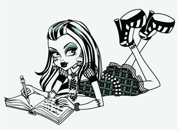 Monster High-Pretty : Nuevas imagenes de Frankie Stein