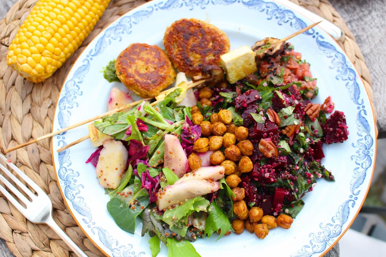21 Days Vegan - vegan barbecue