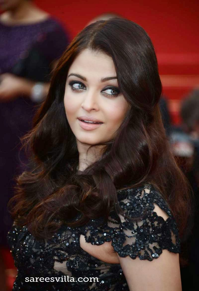 Aishwarya Rai Layered Hairstyle