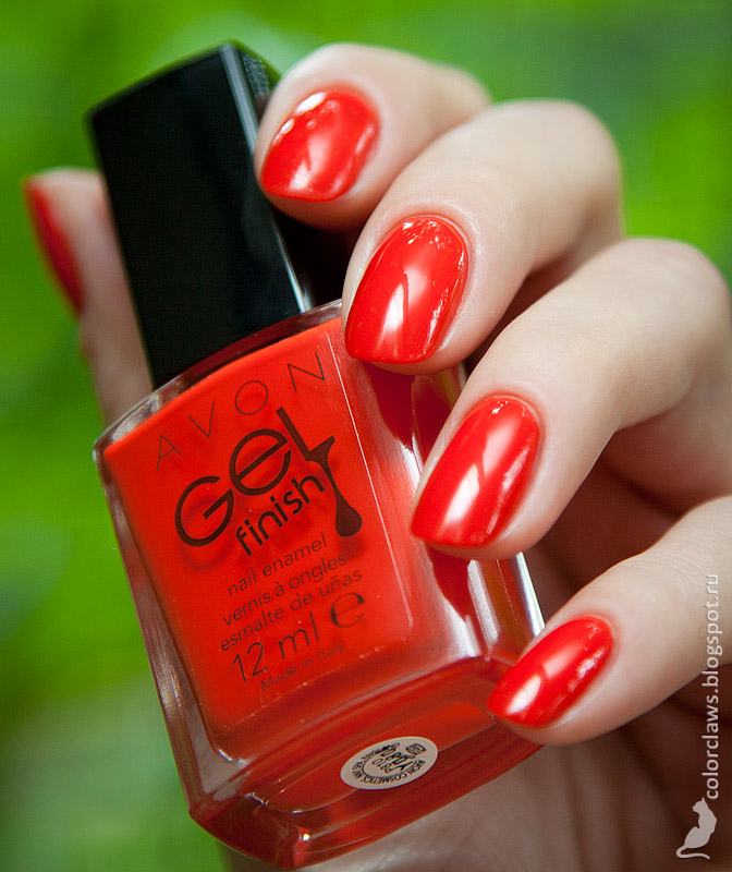 Avon Gel Finish Fire Cracker