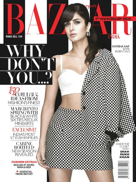 Katrina Kaif's Sexy Cover Pictures