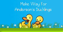 My First Grade Blog:  Make Way For Anderson&#39;s Ducklings