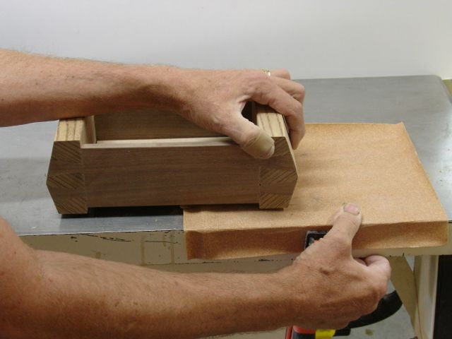 how to make a flat dovetail